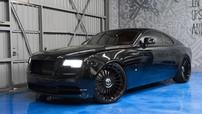 Rolls-Royce Wraith huyền bí trong sắc đen đầy ấn tượng