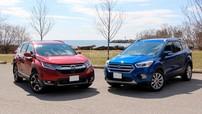 """So sánh xe Honda CR-V 2018 và Ford Escape 2018: Cuộc chiến """"bất phân thắng bại"""""""