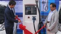 Trạm sạc điện ô tô đầu tiên của Việt Nam được ứng dụng thực tế