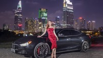"""Khám phá chiếc xe sang Maserati Ghibli S Q4 của """"nữ hoàng giải trí"""" Hồ Ngọc Hà"""
