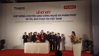 THACO chính thức trở thành nhà phân phối lắp ráp xe tải FUSO, kỳ vọng xuất khẩu xe tải sang các nước ASEAN