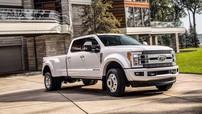 Ford nâng cấp xe bán tải hạng nặng F-Series Super Duty 2018