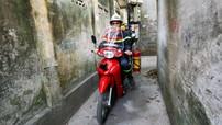 Xe máy cứu hỏa tiện dụng của cảnh sát Hà Nội