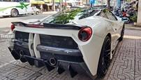 Cận cảnh siêu xe Ferrari 488 GTB độ body kit Misha độc nhất Việt Nam
