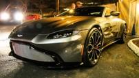 Lần đầu tiên bắt gặp Aston Martin Vantage 2018 trên đường phố
