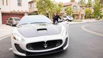 """""""Búp bê"""" Thanh Thảo khoe xế sang Maserati Granturismo MC Stradale tiền tỷ mới tậu"""