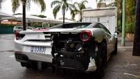 Siêu xe Ferrari 488 mui trần bị bắt gặp tại Pháp với tình cảnh thảm thương