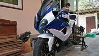 """""""Tí hon"""" Honda MSX 125 lên dàn áo siêu mô tô BMW S1000RR"""