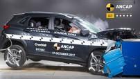 Hyundai Kona là mẫu xe 5 sao về độ an toàn
