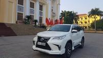 Người mê xe Hà Nam chi 45 triệu đồng để độ Toyota Fortuner thế hệ mới theo phong cách Lexus