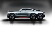 """Làm quen với chiếc Rolls-Royce 6x6 cực """"điên rồ"""" của một nhà thiết kế châu Á"""