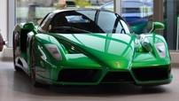 Đây là chiếc Ferrari Enzo hiếm hoi được sơn màu  xanh lục bảo