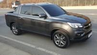 Xe bán tải cỡ trung SsangYong Rexton Sports hoàn toàn mới bị bắt gặp trên đường phố