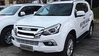 Đấu Toyota Fortuner, Isuzu MU-X 2018 trình làng với nội thất cao cấp hơn