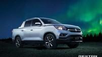 Chi tiết xe bán tải SsangYong Rexton Sports 2018 - đối thủ mới của Ford Ranger