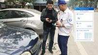 Hà Nội triển khai ứng dụng đỗ xe iParking từ 1/1/2018