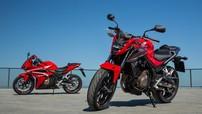 Honda CBR500R, CB500F và CB500X 2018 chính thức ra mắt với giá khởi điểm 177 triệu Đồng
