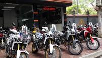 """Cận cảnh xe việt dã """"khủng"""" Honda CRF1000L Africa Twin tại Việt Nam"""