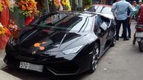 Siêu xe Lamborghini Huracan màu đen độc nhất Việt Nam đã được chủ nhân cho đăng ký biển trắng