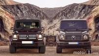 So sánh thiết kế Mercedes-Benz G-Class 2019 với thế hệ G-Class cũ