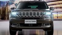 """SUV 7 chỗ Jeep Grand Commander """"hiện nguyên hình"""", cạnh tranh Ford Explorer"""