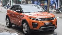 Xem Range Rover Evoque Convertible của nữ biker Hà thành đóng mở mui tự động
