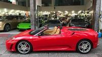 Ferrari F430 mui trần hàng hiếm bất ngờ xuất hiện tại công ty nhập khẩu siêu xe Sài thành