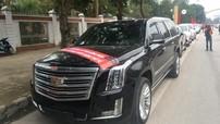 """Cadillac Escalade cùng hàng chục mẫu xe """"khủng"""" đưa đón 4 ngôi sao xứ Nghệ của U23 Việt Nam"""