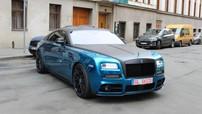 """Chiêm ngưỡng bản độ Mansory của chiếc Rolls-Royce Wraith từng khiến nhà giàu Việt """"phát cuồng"""""""