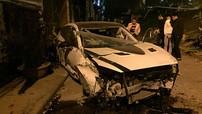 """Mazda3 độ body kit """"bay"""" từ trên đường An Dương Vương xuống, đôi nam nữ bị thương"""