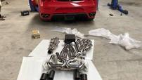 Chủ nhân Ferrari F430 tại Việt Nam chi hơn 220 triệu Đồng để độ ống xả