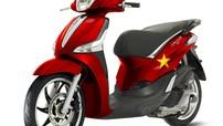 Piaggio Việt Nam ra mắt Liberty u23 phiên bản đặc biệt màu cờ Việt Nam