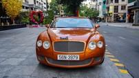 """Soi kỹ chiếc Bentley Continental GT Speed màu cam biển """"thần tài"""" của gia đình Phan Thành"""