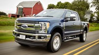Top 10 mẫu xe bán tải bán chạy nhất thế giới trong năm 2017