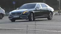 Lần đầu tiên bắt gặp xe siêu sang Mercedes-Maybach S-Class 2019 chạy trên đường phố
