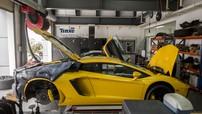 Dàn xe Lamborghini từ Sài Gòn ra Hà Nội bảo dưỡng những gì?