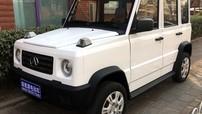 """Qifeng K7 - Ô tô điện giá 90 triệu Đồng """"nhái"""" Mercedes-Benz G-Class, đi chậm hơn xe máy"""