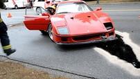 Ferrari đâm vào cột, tiền sửa gần 800.000 USD nhưng công ty bảo hiểm chỉ trả hơn 600.000 USD