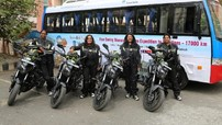 4 nữ biker Ấn Độ thực hiện hành trình 17.000km đã đến Việt Nam