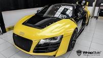 """Siêu xe Audi R8 độ """"khủng"""" tại Việt Nam được chủ nhân cho đi """"làm đẹp"""""""