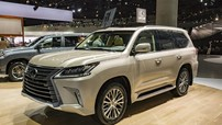 """""""Chuyên cơ mặt đất"""" Lexus LX570 2018 bản 5 chỗ được báo giá chính thức"""