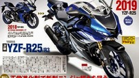 Yamaha R25 2019 lộ thiết kế mới với cảm hứng từ Yamaha R6