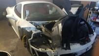 Chiếc Ferrari 458 Italia bị bắt gặp trong tình cảnh thảm thương ở Nam Phi