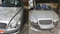 """Ngỡ ngàng xe siêu sang Bentley """"tàn tạ nhan sắc"""" theo năm tháng tại Hà Nội"""