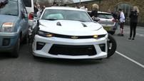 Tăng tốc đột ngột trên đường phố, Chevrolet Camaro gây tai nạn kinh hoàng
