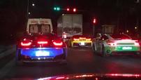 """Dàn xe thể thao tại Sài thành """"phượt"""" sang Thái Lan để đua xe"""