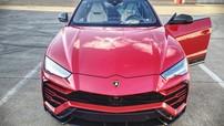 """Lamborghini Urus bị bắt gặp tại đường phố của Đức với màu đỏ """"sexy"""""""