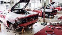 """Ferrari 458 Italia tại Sài thành bắt đầu được chủ nhân độ """"khủng"""""""