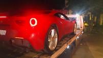 """Ferrari 488 GTB của Tuấn Hưng gặp sự cố vì """"mấy cục đá trên trời rơi xuống"""""""