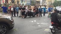 """Hà Nội: Thanh niên điều khiển Kawasaki Z1000 bị """"ném đá"""" sau tai nạn với người phụ nữ đi xe đạp"""